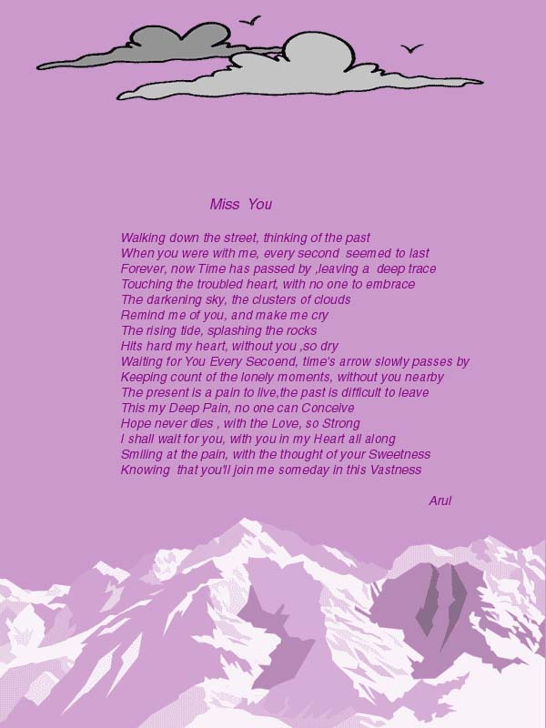 miss you friend poems